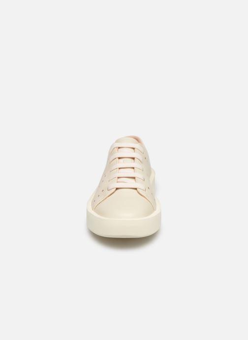 Baskets Camper Courb W Blanc vue portées chaussures