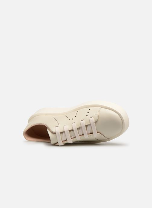 Sneakers Camper Courb W Bianco immagine sinistra