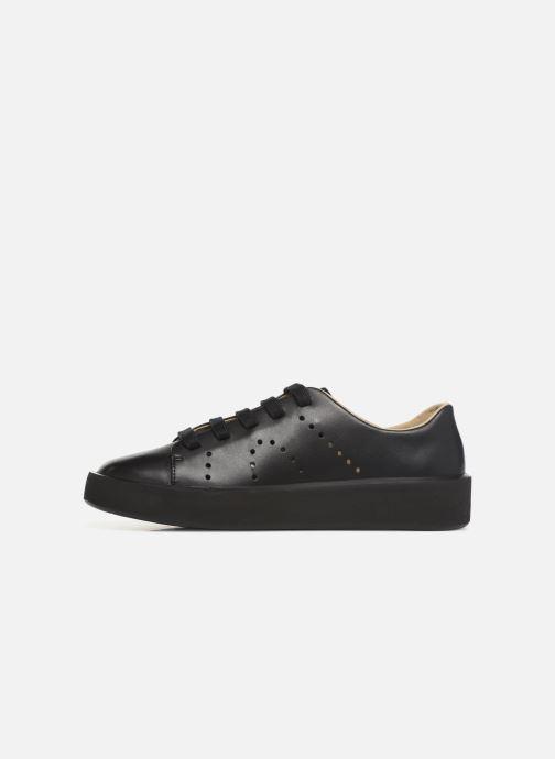 Sneaker Camper Courb W schwarz ansicht von vorne