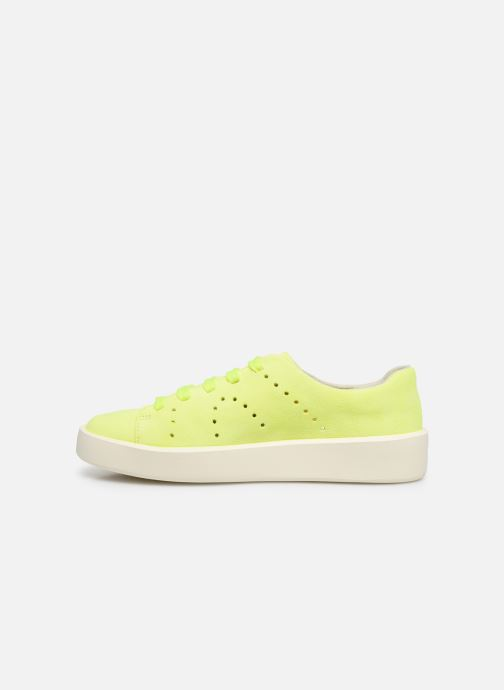 Sneakers Camper Courb W Giallo immagine frontale