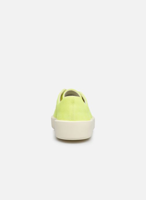 Sneakers Camper Courb W Giallo immagine destra