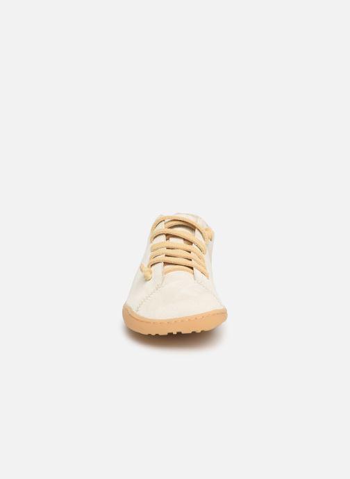 Baskets Camper Peu Cami K200586 Blanc vue portées chaussures