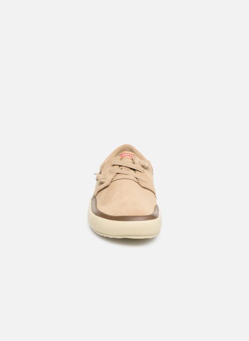 Sneakers Camper Peu Rambla Vulcanizado 100414 Beige bild av skorna på