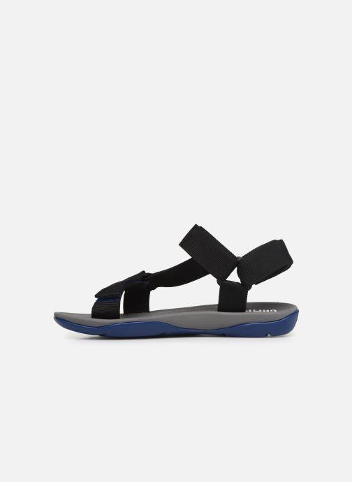 Sandales et nu-pieds Camper Match Noir vue face