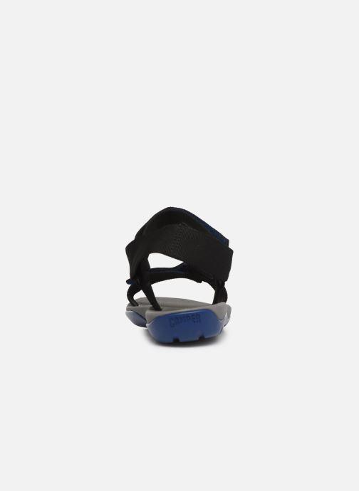 Sandales et nu-pieds Camper Match Noir vue droite