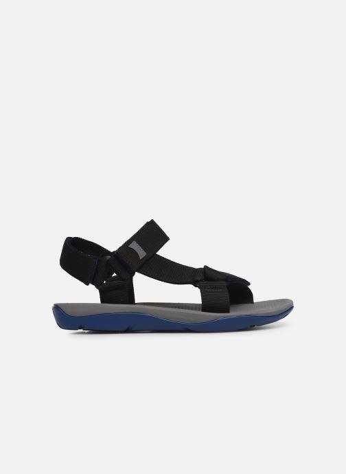 Sandales et nu-pieds Camper Match Noir vue derrière
