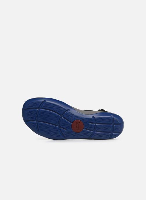 Sandales et nu-pieds Camper Match Noir vue haut