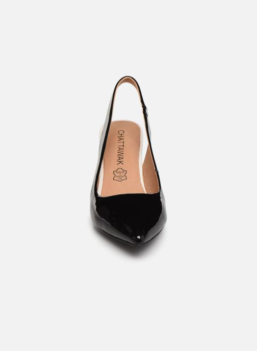 Zapatos de tacón Chattawak DORINE Negro vista del modelo