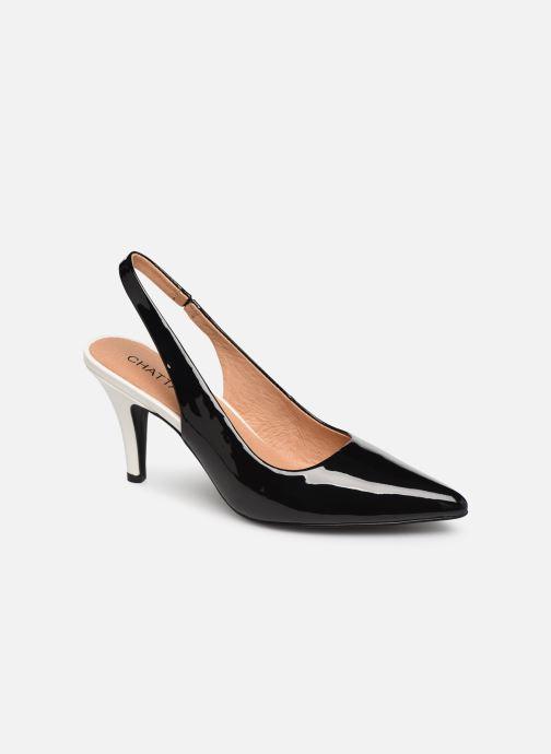 Zapatos de tacón Chattawak DORINE Negro vista de detalle / par