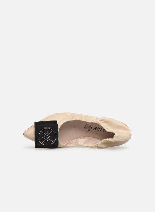 Ballerinas Chattawak GLYCINE beige ansicht von links