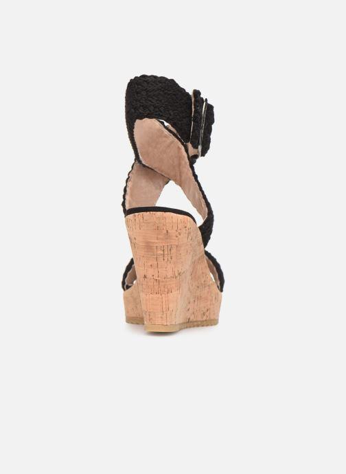 Sandalen Chattawak LADY Zwart rechts