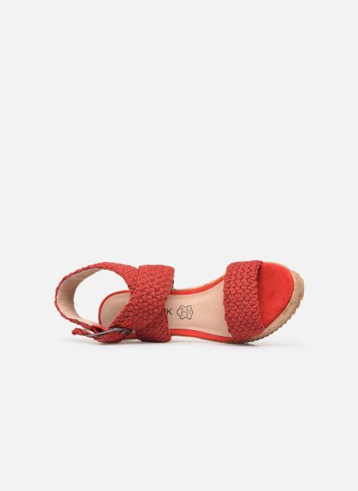rouge Chattawak Nu 358016 Et pieds Chez Lady Sandales 55nw8xqFr