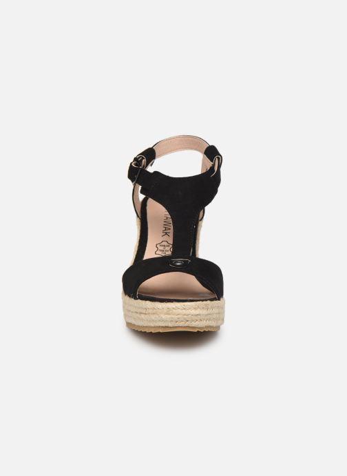 Espadrilles Chattawak LIVE Noir vue portées chaussures