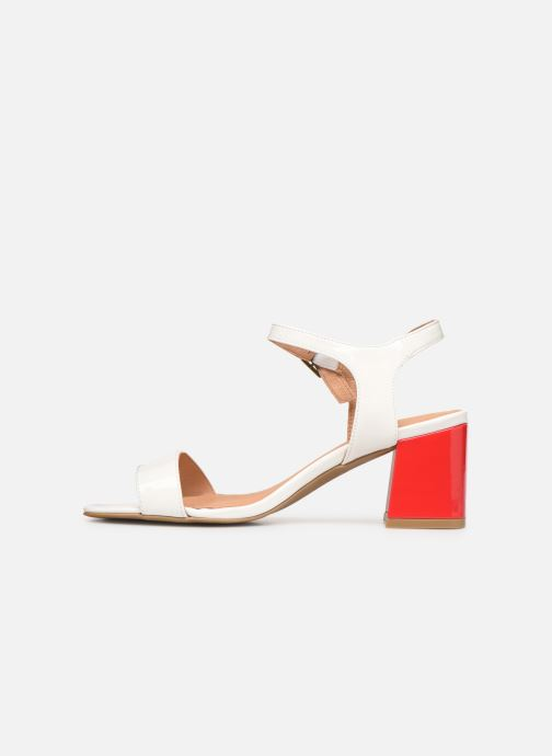 Sandales et nu-pieds Chattawak LYS Blanc vue face
