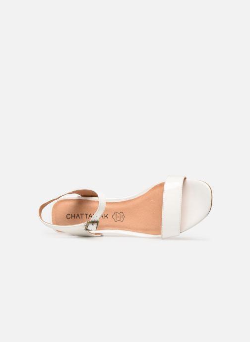 Sandales et nu-pieds Chattawak LYS Blanc vue gauche