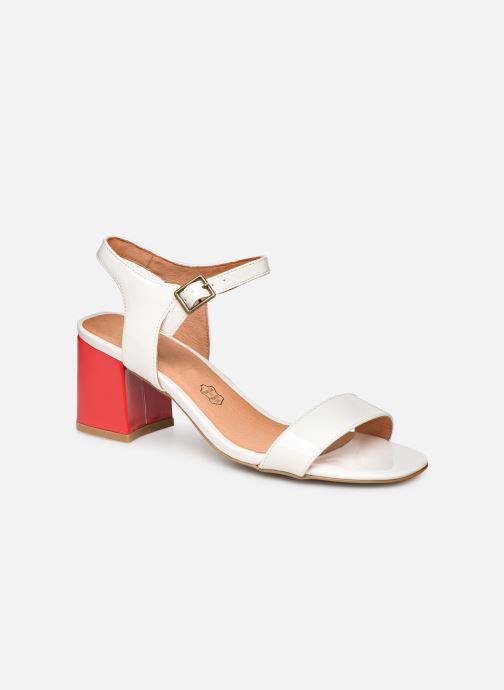 Sandales et nu-pieds Chattawak LYS Blanc vue détail/paire