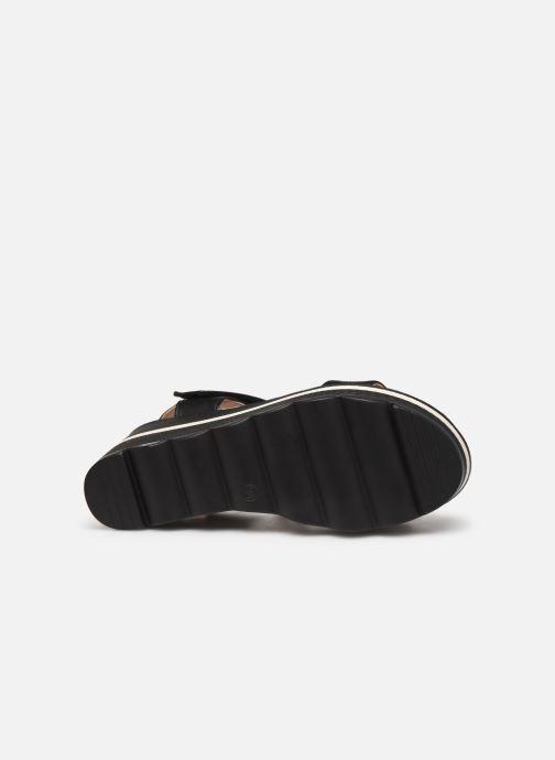 Sandalen Chattawak PAVOT schwarz ansicht von oben