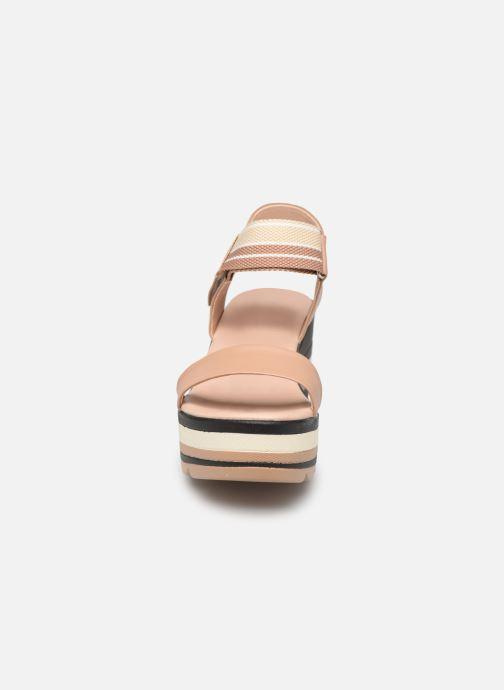 Sandalen Chattawak PAVOT braun schuhe getragen