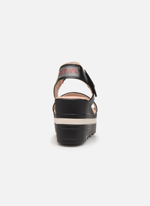 Sandali e scarpe aperte Chattawak PAVOT Nero immagine destra