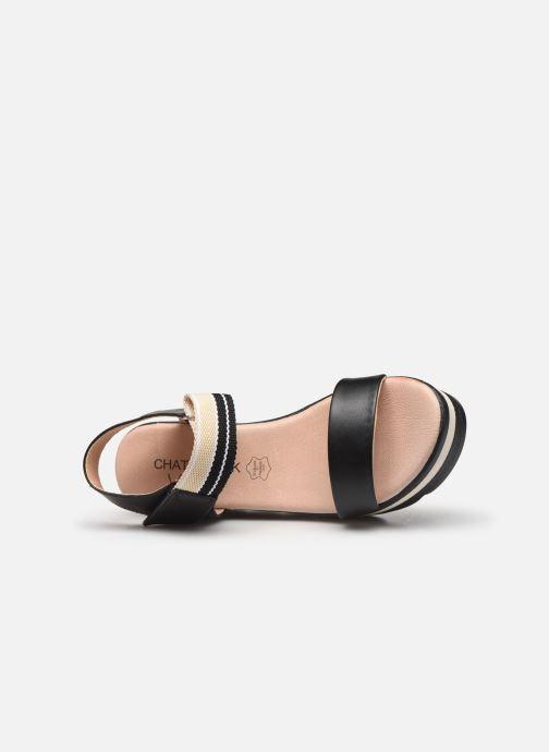 Sandali e scarpe aperte Chattawak PAVOT Nero immagine sinistra