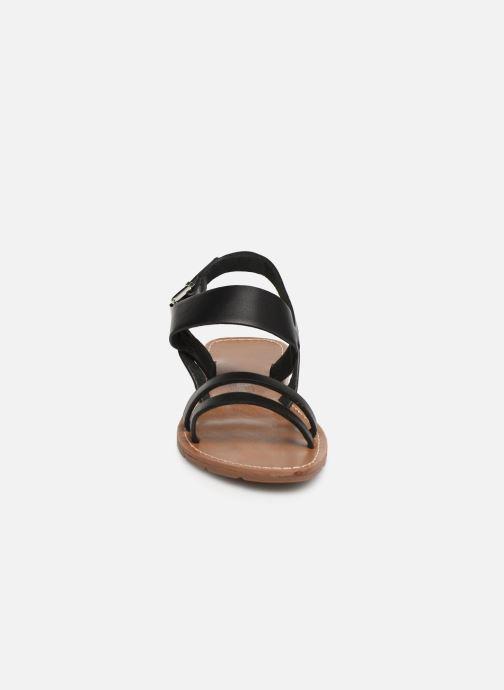 Sandalen Chattawak RUBIS schwarz schuhe getragen