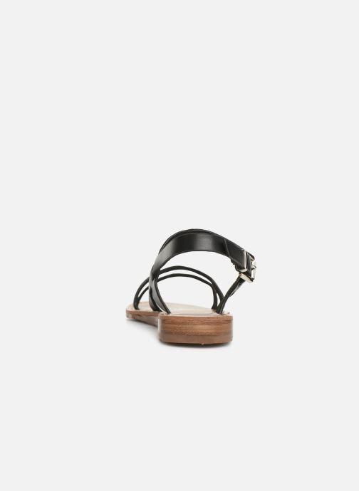 Sandali e scarpe aperte Chattawak RUBIS Nero immagine destra