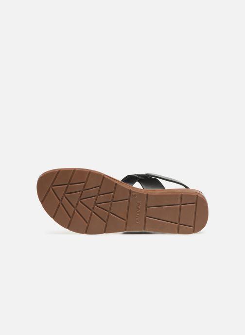 Sandali e scarpe aperte Chattawak RUBIS Nero immagine dall'alto