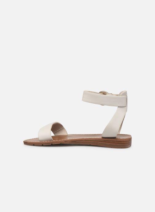 Sandales et nu-pieds Chattawak SABINE Blanc vue face
