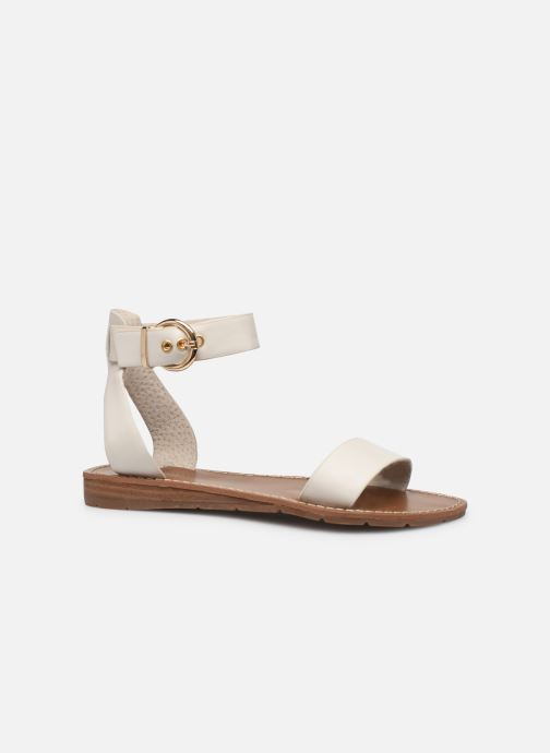 Sandales et nu-pieds Chattawak SABINE Blanc vue derrière