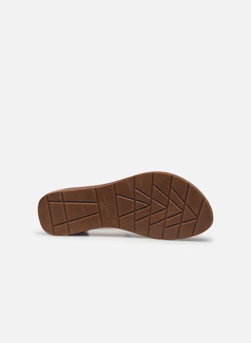 Sandales et nu-pieds Chattawak SABINE Blanc vue haut