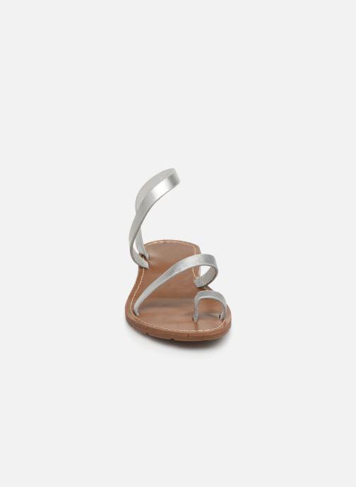 Sandales et nu-pieds Chattawak SALOME Argent vue portées chaussures