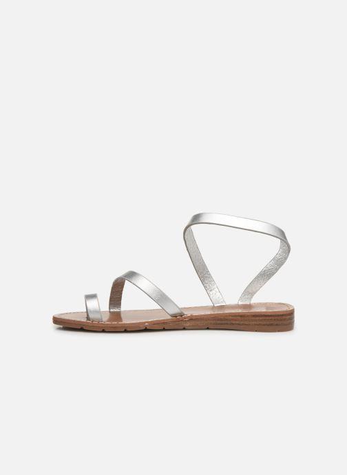 Sandales et nu-pieds Chattawak SALOME Argent vue face