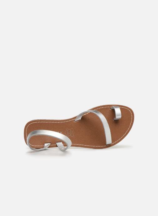 Sandales et nu-pieds Chattawak SALOME Argent vue gauche