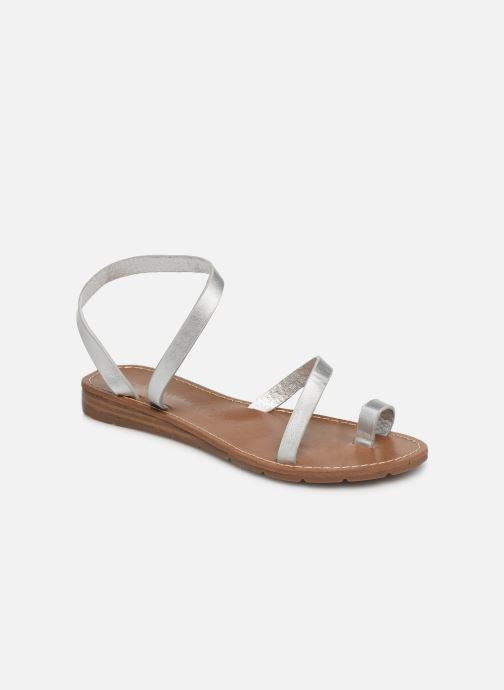 Sandales et nu-pieds Chattawak SALOME Argent vue détail/paire