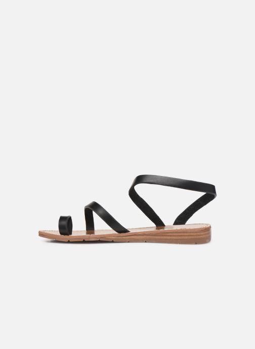 Sandales et nu-pieds Chattawak SALOME Noir vue face