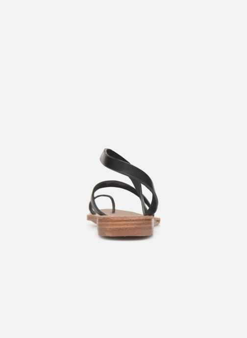 Sandals Chattawak SALOME Black view from the right