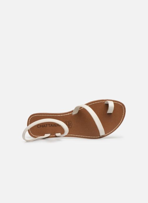 Sandals Chattawak SALOME Beige view from the left