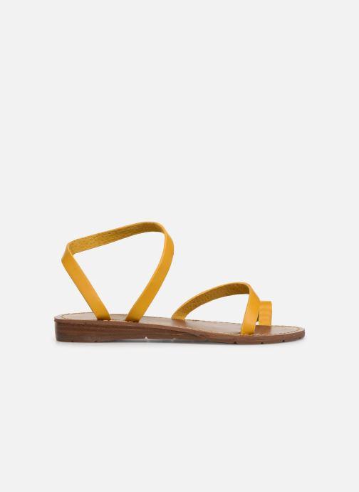 Sandalen Chattawak SALOME gelb ansicht von hinten