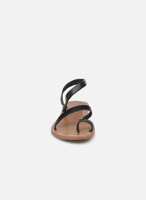 Sandales et nu-pieds Chattawak SALOME Noir vue portées chaussures