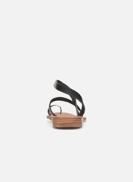 Sandales et nu-pieds Chattawak SALOME Noir vue droite