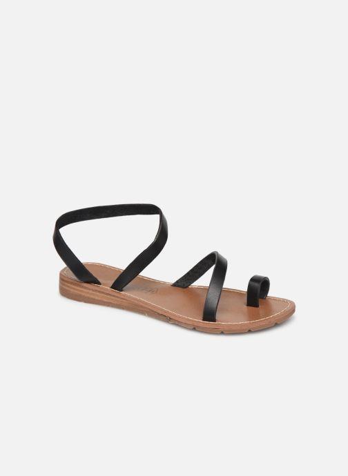 Sandales et nu-pieds Chattawak SALOME Noir vue détail/paire