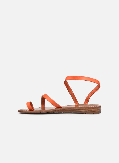 Sandales et nu-pieds Chattawak SALOME Orange vue face
