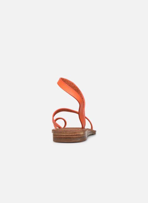 Sandales et nu-pieds Chattawak SALOME Orange vue droite