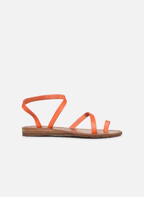 Sandales et nu-pieds Chattawak SALOME Orange vue derrière