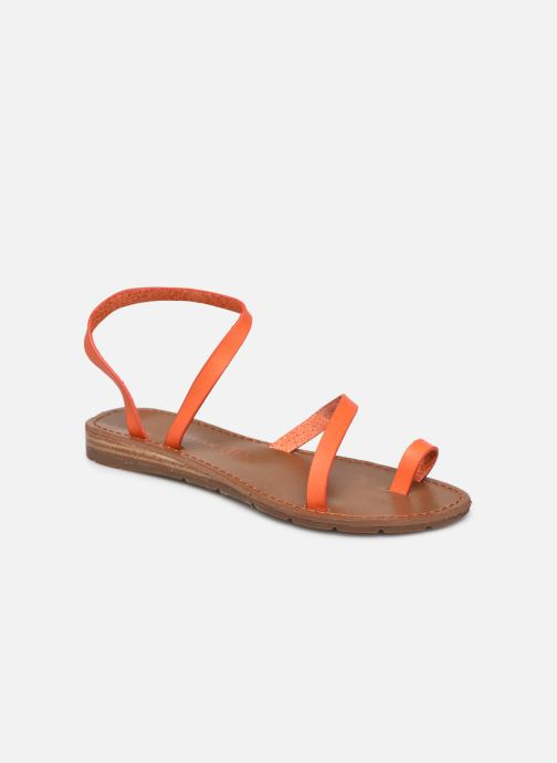 Sandales et nu-pieds Chattawak SALOME Orange vue détail/paire