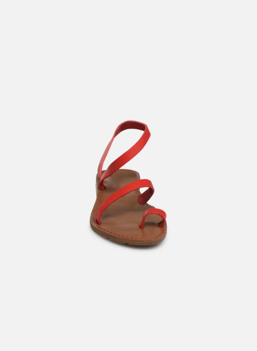 Sandalen Chattawak SALOME rot schuhe getragen