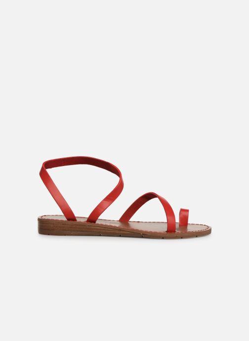 Sandalen Chattawak SALOME rot ansicht von hinten
