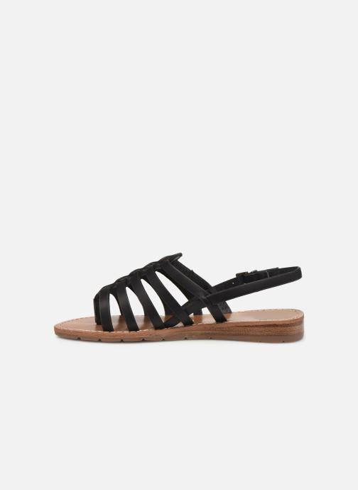 Sandales et nu-pieds Chattawak SHIRLEY Noir vue face