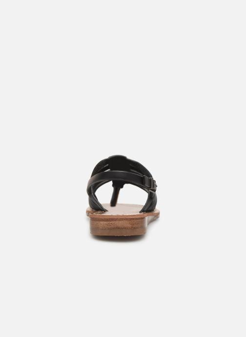 Sandales et nu-pieds Chattawak SHIRLEY Noir vue droite