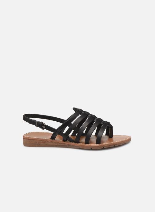 Sandales et nu-pieds Chattawak SHIRLEY Noir vue derrière